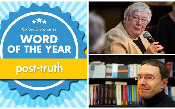 Oxfordi sõnaraamatud valisid sõna post-truth ehk tõejärgne mullu aasta sõnaks.