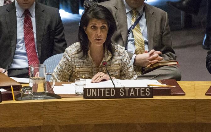 USA suursaadik ÜRO juures Nikki Haley.