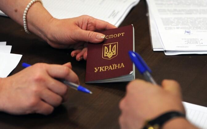 Ukraina kodaniku pass.