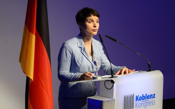AfD juht Frauke Petry.
