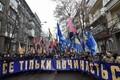 Kiievis tähistati marsiga Maidani kolmandat aastapäeva.