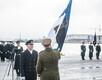 Командующий ВМС Юри Саска вступил в должность.