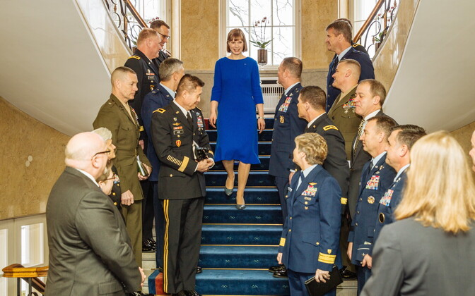 Eestit külastas kindral Philip Breedlove.