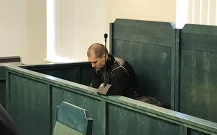 Juri Vorobei during his trial, April 2017.