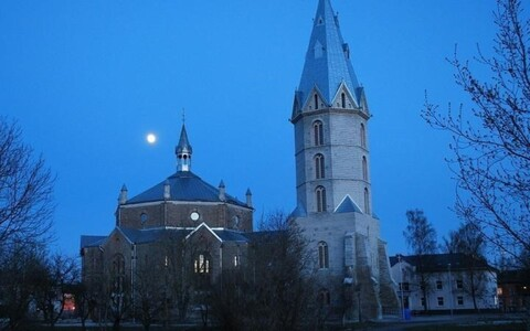 Нарвская Александровская церковь. Иллюстративное фото.