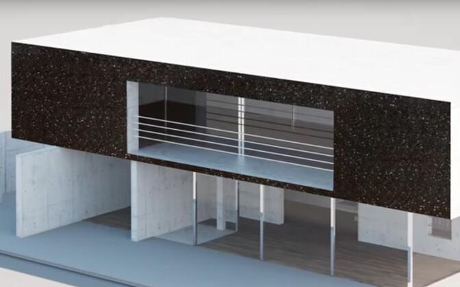 Monoterapulbrist päikesepatareidega on võimalik katta ka näiteks maja sein ja panna see päikesevalgusest elektrit tootma.
