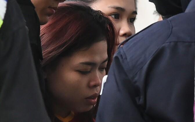 Kim Jong-nami tapmises süüdistatav indoneeslanna.