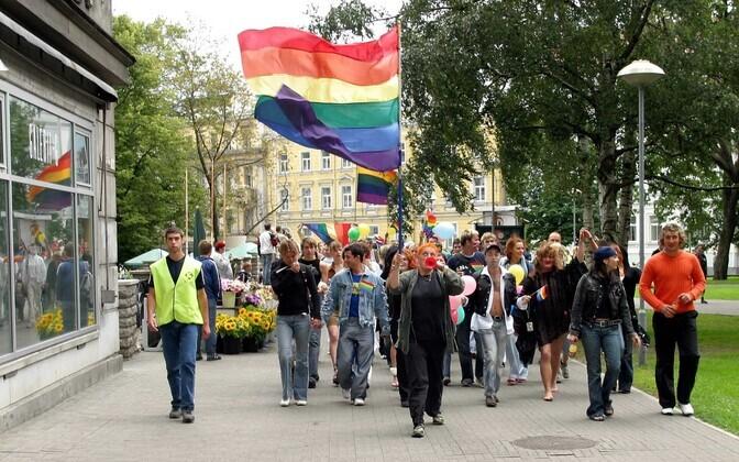 Tallinn Pride in 2004.