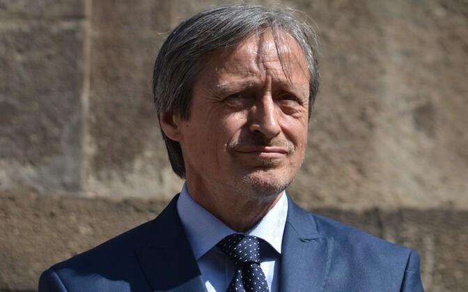 Czech Minister of Defence Martin Stropnický.
