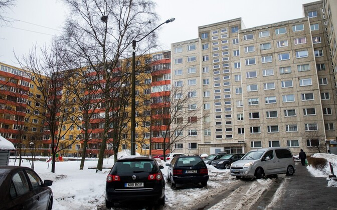 Apartment blocks in Estonia. Photo is illustrative.