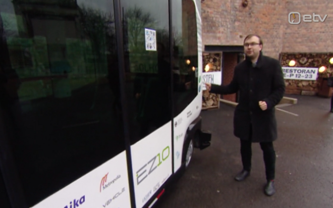 Eesti esimene ilma juhita buss