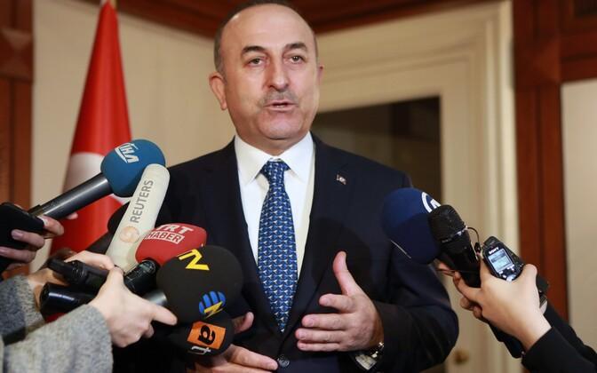 Министр иностранных дел Турции Мевлют Чaвушоглу.