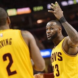 Kyrie Irving ja LeBron James
