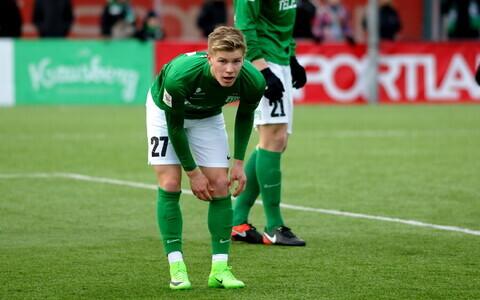 FC Flora - Tallinna Levadia / Joseph Saliste