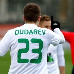 Счет в матче открыл Игорь Дударев