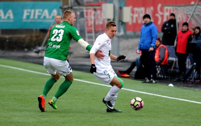 FC Flora - Tallinna Levadia / Mihkel Ainsalu ja Pavel Marin