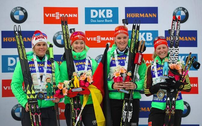 Женская сборная Германии по биатлону.