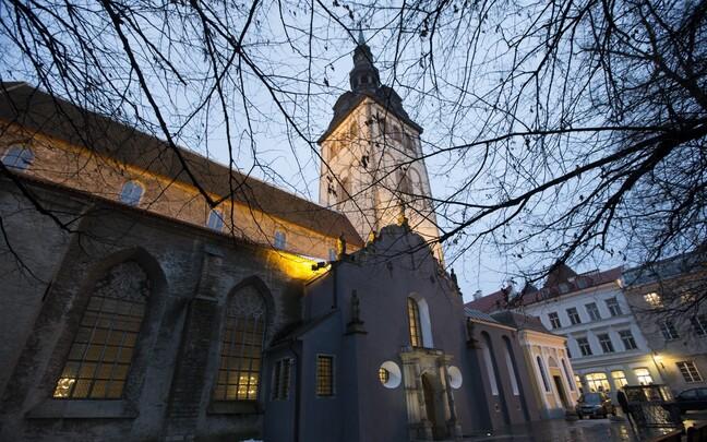 Церковь Нигулисте находится в Старом городе.