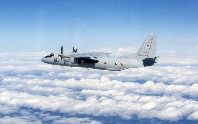 An-26 plane of the Russian air force. EANS will soon be updated automatically whenever the military spots aircraft flying without transponders switched on.