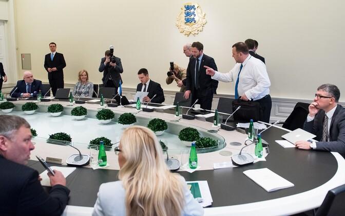 Правительство Эстонии.