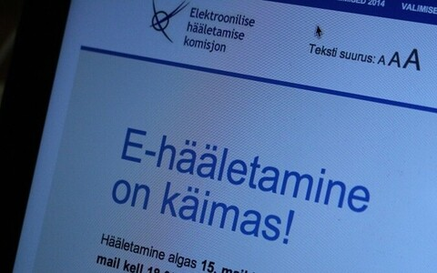 E-voting in Estonia.