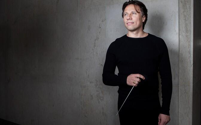 Estonian-American producer and conductor Kristjan Järvi.