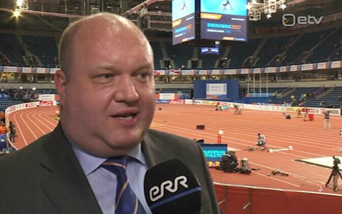 Эрих Тейгамяги признал, что результаты соответствуют текущему уровню эстонских спортсменов.