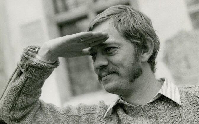Näitleja, lavastaja Kalju Komissarov. September 1975