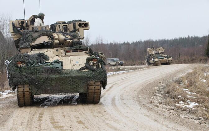 1. jalaväebrigaadi õppus Talvelaager