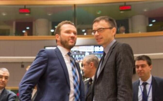 Margus Tsahkna ja Sven Mikser.