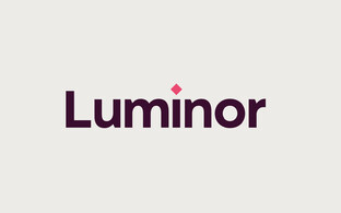 Logo for the new bank Luminor.