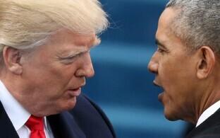 Trump ja Obama 20. jaanuaril ehk Trumpi ametisse asumise päeval.