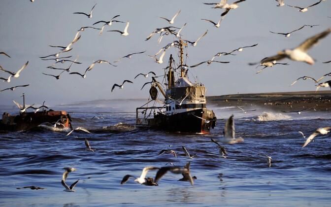 Рыболовецкое судно. Иллюстративная фотография.