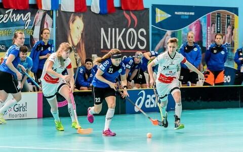Женская сборная Эстонии по флорболу готова дать бой любому сопернику.