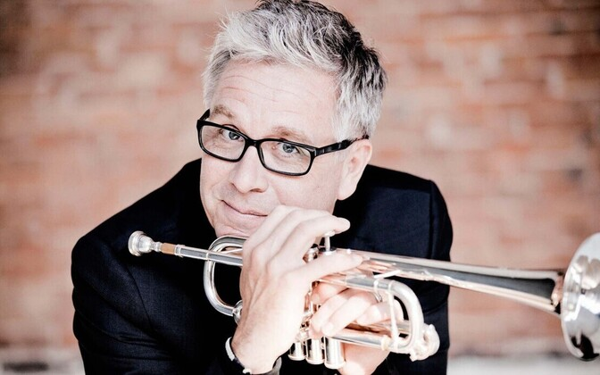 Eestit külastas rootsi trompetist Håkan Hardenberger.