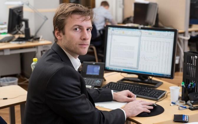 LHV analyst Kristo Aab.