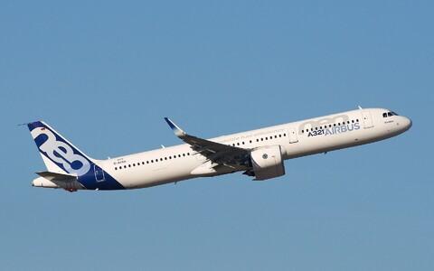 Arenduse vastu on huvi tundnud ka lennukitootja Airbus. Pildil Airbus A321neo prototüüp