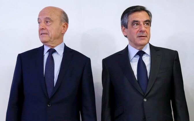 Alain Juppé ja François Fillon.