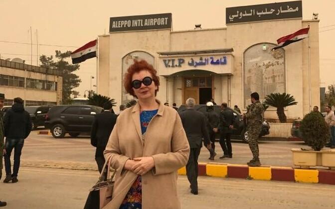 Яна Тоом в Алеппо.