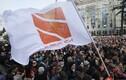 Meeleavaldus telekanali Rustavi-2 toetuseks.