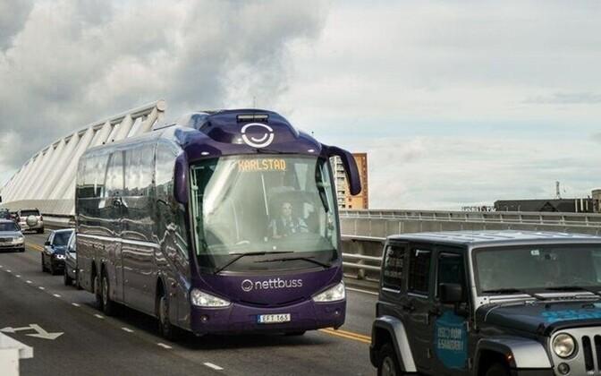 A Nettbuss coach.