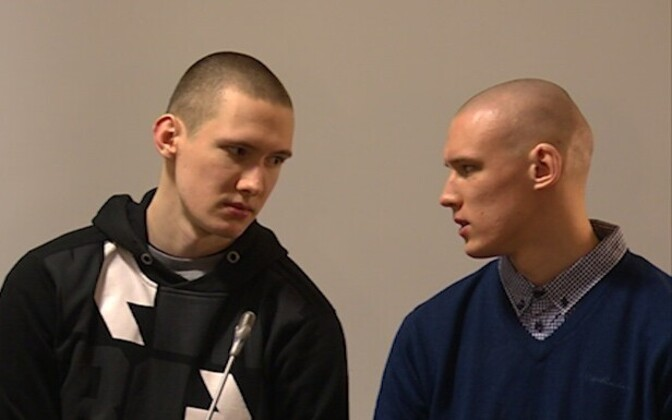 Filip-Artur and Benjamin Hiienurme murdered a taxi driver and stole his car in Jan. 2016.