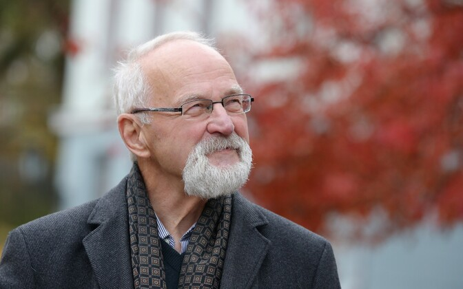 Academic and former TÜ rector Peeter Tulviste the day before his 70th birthday. Oct. 27, 2015.