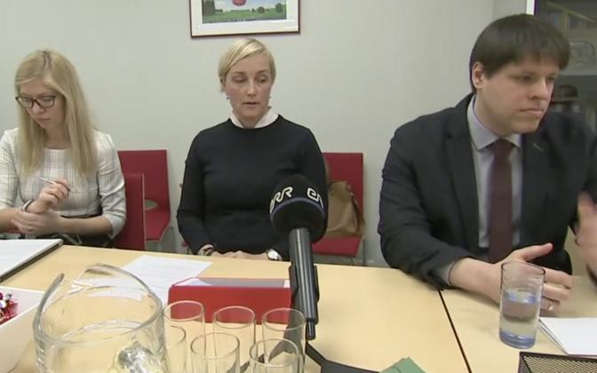 MISA nõukogu juht Kristina Kallas (keskel).