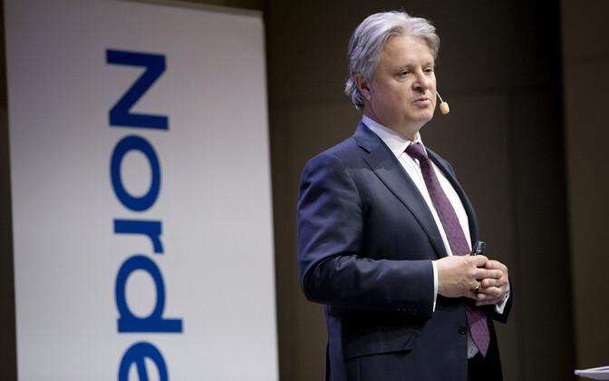 Глава концерна Nordea Каспер фон Коскулл.