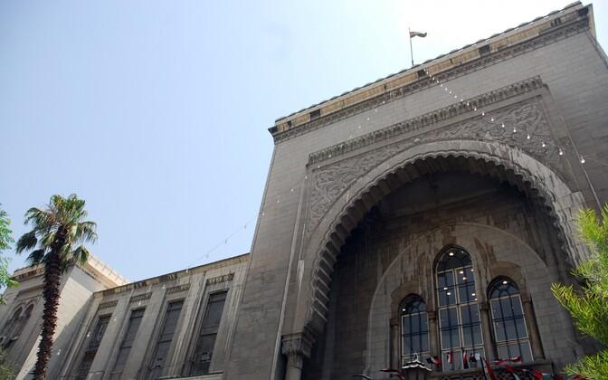 Дворец правосудия в Дамаске.
