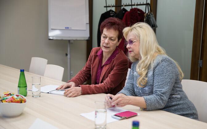 Nõukogu liikmed Krista aru ja Marika Tuus-Laul.