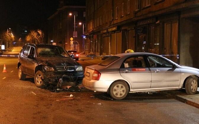 Водитель Mercedes в результате ДТП не пострадал.