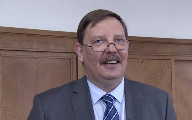 Кандидат в мэры Таллинна от Центристской партии Таави Аас.