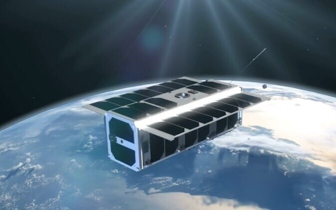 Conceptual image of the ESTCube-2 satellite.